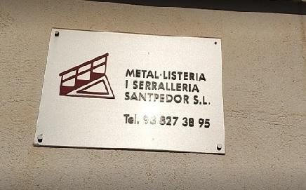 METAL.LISTERIA I SERRALLERÍA SANTPEDOR, S.L.