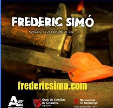 FORJA ARTÍSTICA I SERRALLERIA FREDERIC SIMO, S.L.